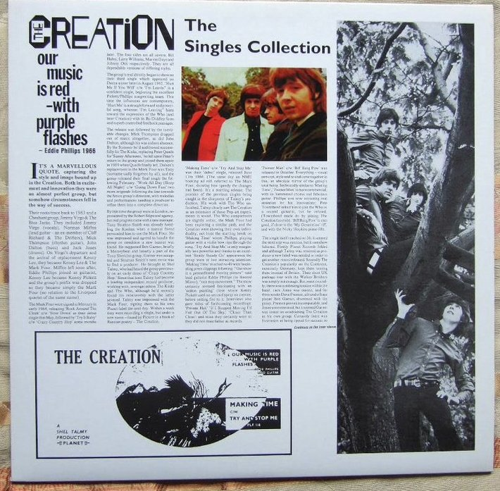 The Creation- The Singles Collection