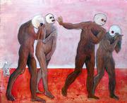10. Expulsion Expulsion. 2010 Oil on Canvas 122x154cm