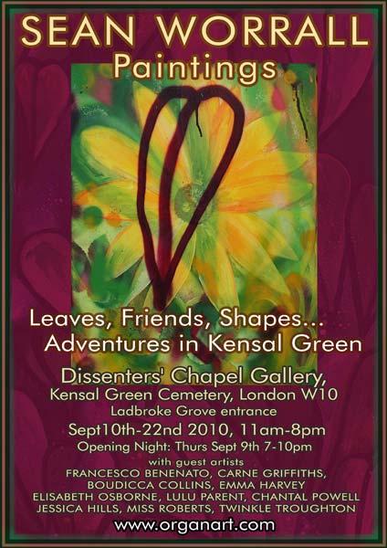dissenters' Chapel shoe poster