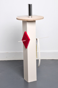 Circular square table