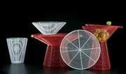 TaTu  (coffee table, stool, tray, basket, bowl)