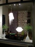 gallery window by night