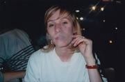 valeria, smoking