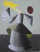 "Silvia Krivosikova, ""Princess""175x135cm, acril/canvas, 2011"