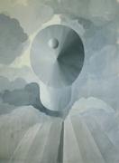 "Silvia Krivosikova,""Levitation"", 66x45cm,acril/canvas, 2010"