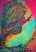 Toll és akvarell