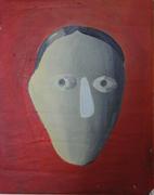 Head,45x35cm, acril/canvas,2011
