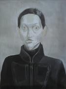 Selfportrait, 60x45cm,acril/canvas,2009