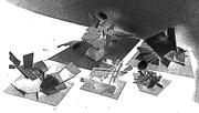 1990 's Architecture School models