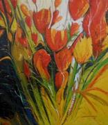 ''SPIRIT OF TOGETHERNESS'' OIL, 40'' X 35'', 2011, IMG_9179