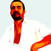 Arab In A White Shyrt