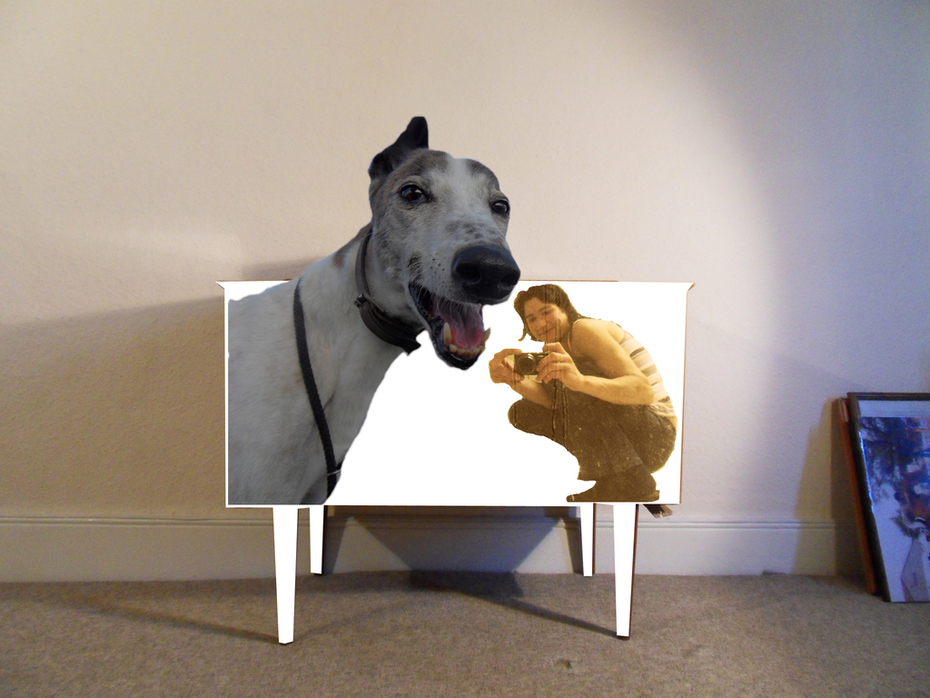 me and paddy in the magic sideboard