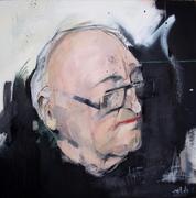 No Unnecessary Words, mixed media on canvas, 61 x 61cm,2012, £800 copy