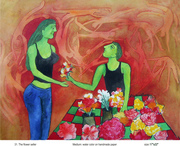 31 The flower seller