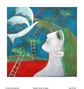 27 She & the flying bird