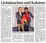 galerie liebau fulda herfelder zeitung 23 01 2013 contemporary light art sculpture object statue sculptor christoph luckender kunst skulptur bildhauer manfred kielnhofer