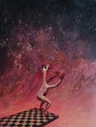 Tom de Freston, Struts and Frets, 2012, oil on canvas, 200x150cm