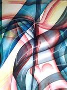 SINUOSITA' (olio su tela 120x100) 2011