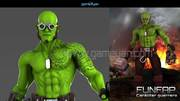 Showcase and Discover Creative Work Character Modeling Artist