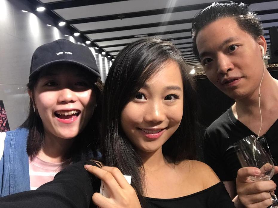 Michael andrew law cheuk yui and Liane and Tracey
