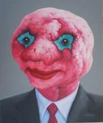 外星人系列32号.布面油画.50x60cm.2010年