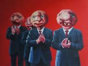 外星人系列27号.布面油画.120x150cm.2009年