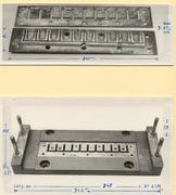 Perforeringsmaskinen 1863-1910 undre del