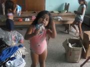 recibiendo donaciones