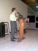 Conferencia en el IHCI, Honduras