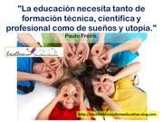 Educación y utopía