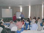 Conferencia y taller en el Hotel Clarión de Honduras