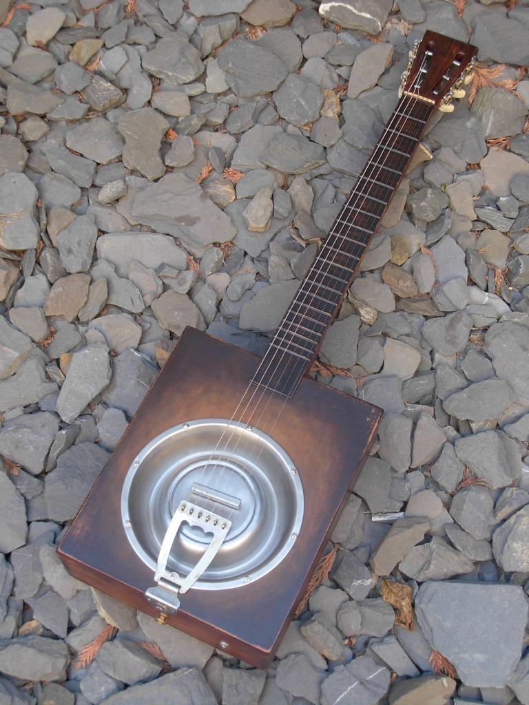 DogDish Winebox Resonator Guitar