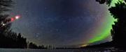 Panorama över Vintergatan