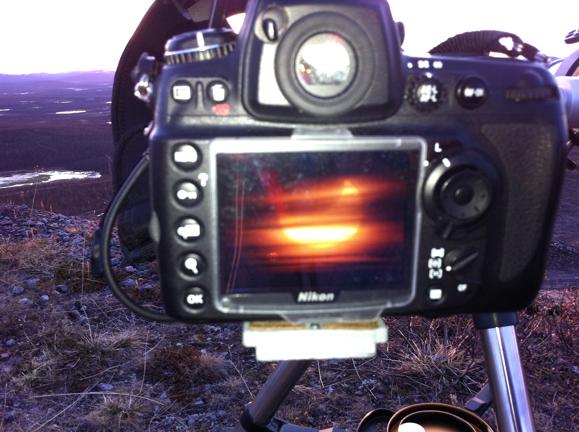 Solförmörkelse genom D700