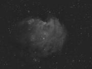 NGC2175_stack 23x5min Ha