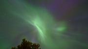 Timelapse: Norrsken över Ursviksfjärden