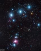 Orions bälte och svärd