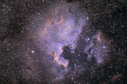 NGC7000: smalband med systemkamera