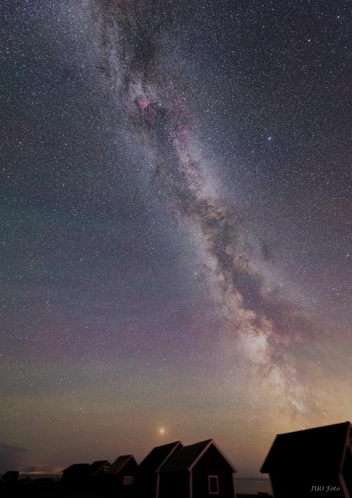 Vintergatan från Öland