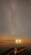 Vintergatan i dimma