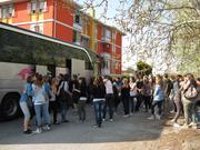Scambio con Pontcharra (Grenoble) A.S.2011/12 - Arrivo