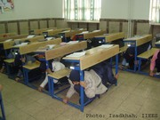 School Earthquake and Safety Drill 2009