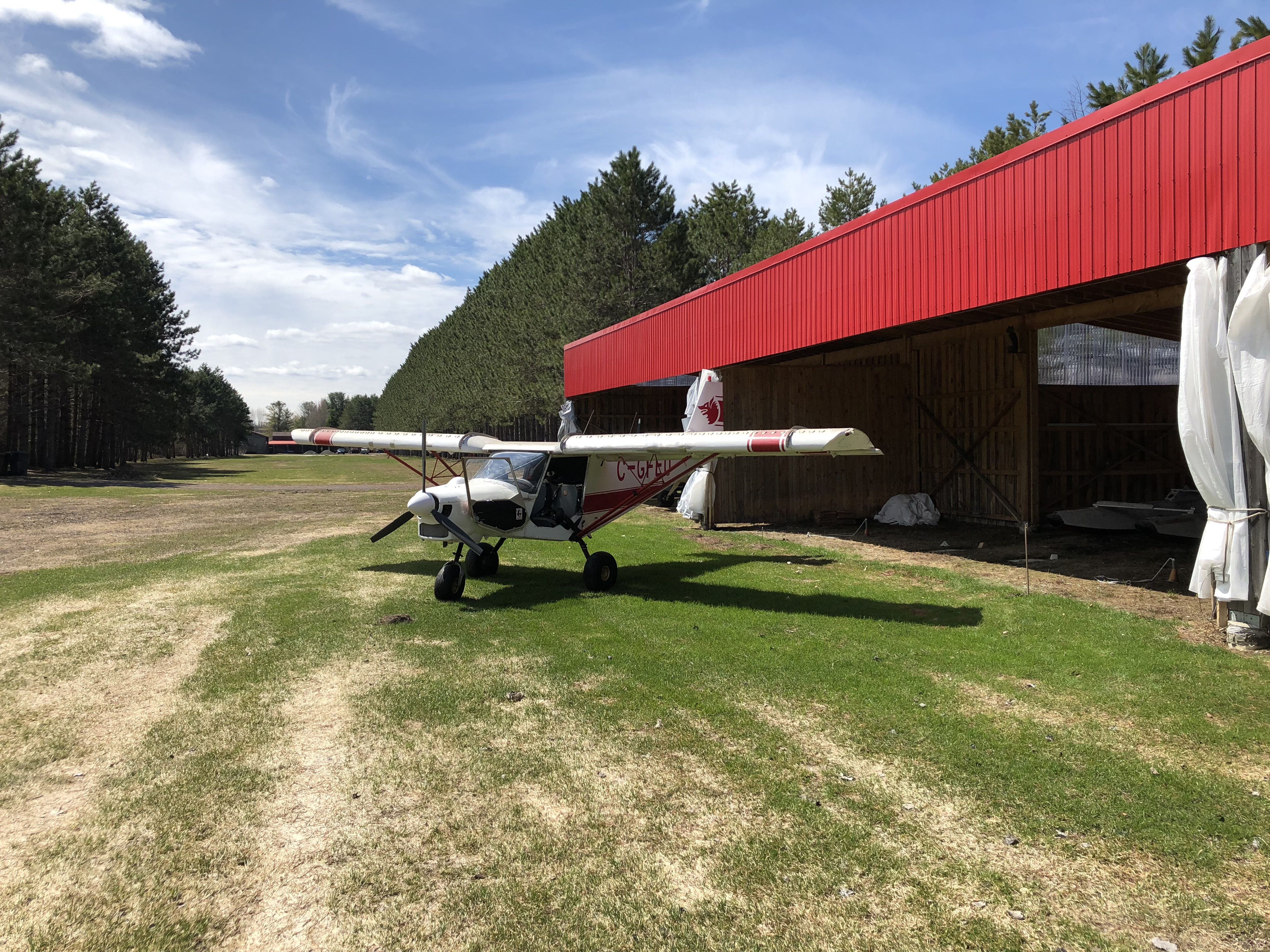 CH701 back after first flight of the year 2019 !!!