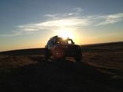 Some wheeling at sunset