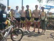 With the German Team - Tour De Mumbai 2010 - 21 Feb 2010