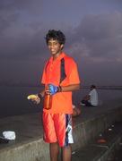 Sagar striking a pose