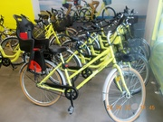 Normal pedal and Electric cycles on hire in Barcelona.