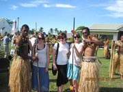 Uncles With Friends..Ready For Spear Dance.