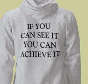 Achieve Hooded Sweatshirt (Rear)