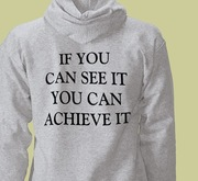 Achieve Hooded Pullover (Rear)